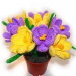 Виртуальный мастер-класс «Весенние цветы»