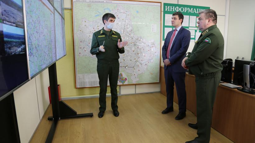 Замруководителя Рослесхоза Александр Агафонов посетил Комитет лесного хозяйства Подмосковья