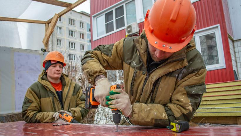 Значительная часть предприятий приостановила работу в Подмосковье