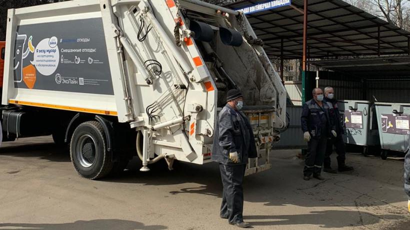 Более 170 тыс. кубометров отходов вывезли из поселков и деревень Подмосковья в праздники