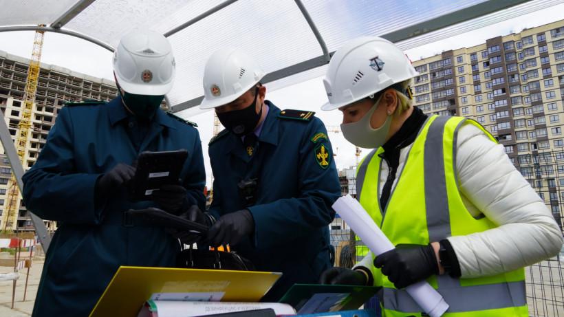 Более 600 уведомлений о готовности возобновить работы подали застройщики Подмосковья