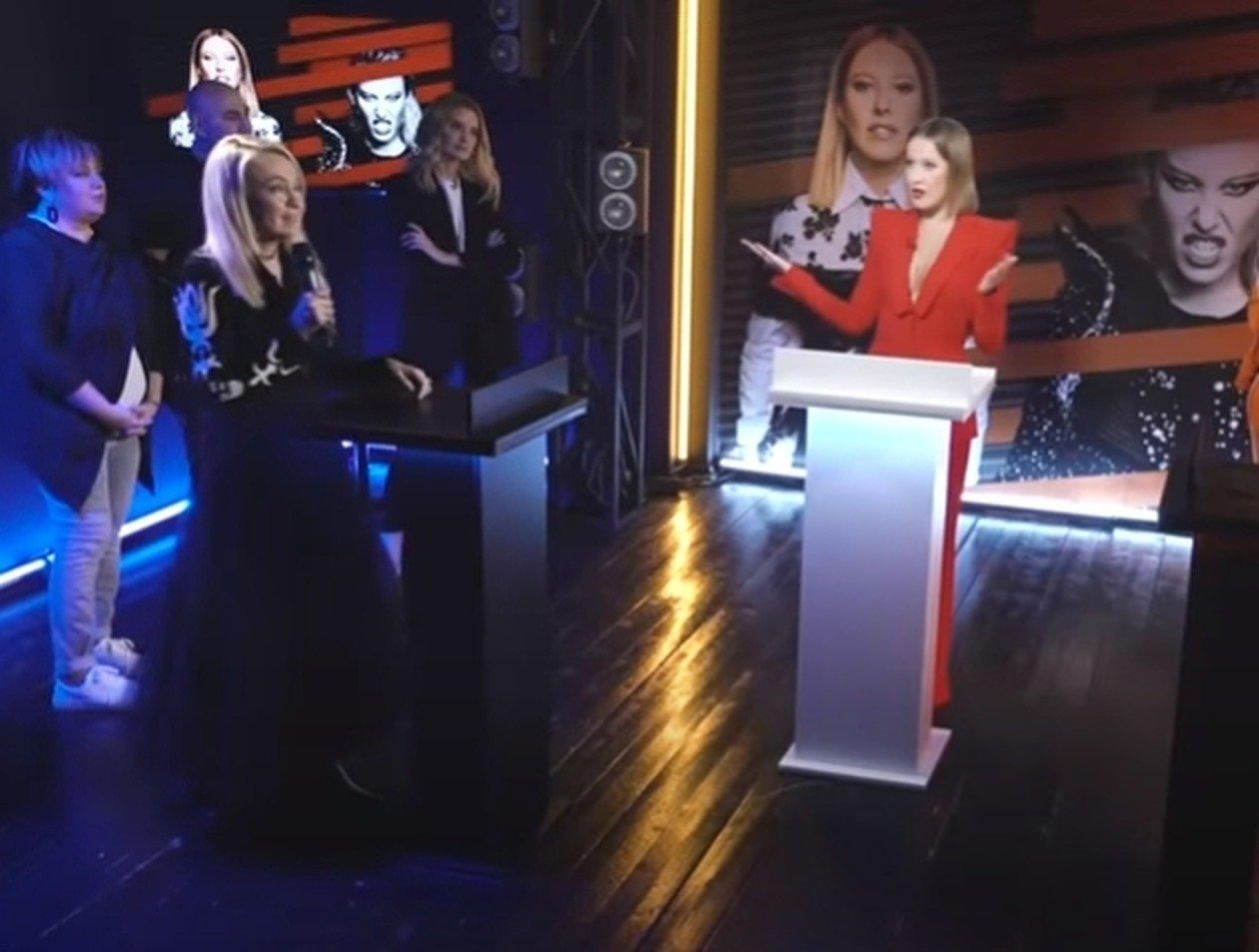 Новое шоу Собчак раскритиковали в Сети