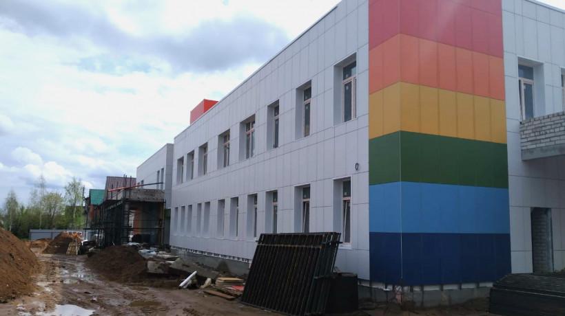 Детский сад на 125 мест достроят в Ивантеевке в июне