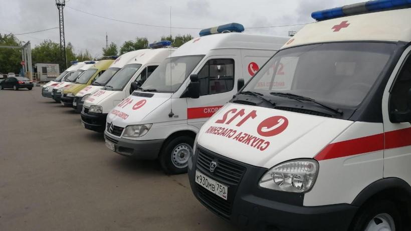 Еще 20 машин скорой помощи отремонтировали и передали в 6 городских округов Подмосковья