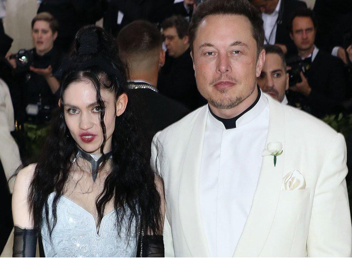 Граймс и Илон Маск назвали своего сына X Æ A-12