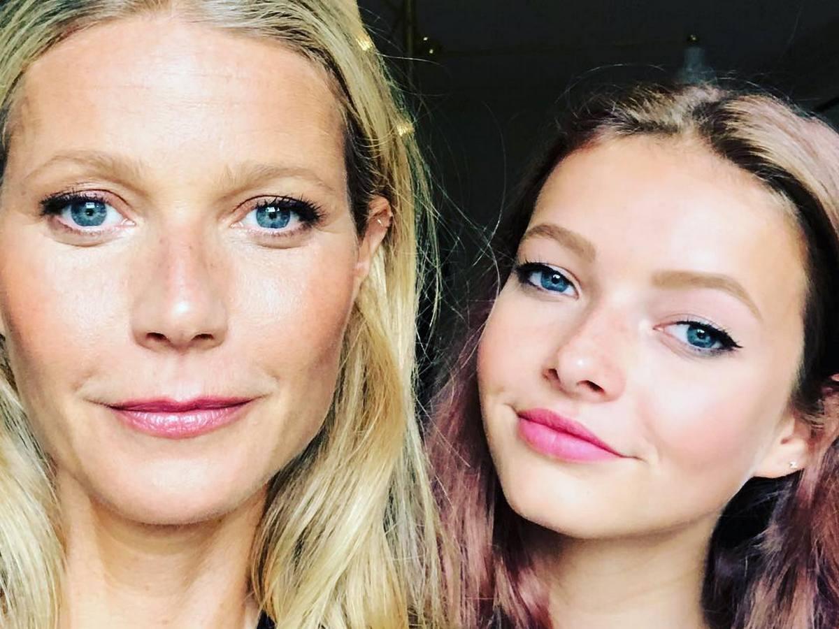 Гвинет Пэлтроу обнародовала фотографии 16-летней дочери