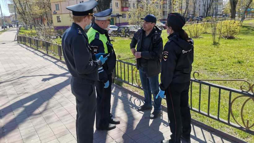 Инспекторы Госадмтехнадзора выявили 164 нарушения самоизоляции за день