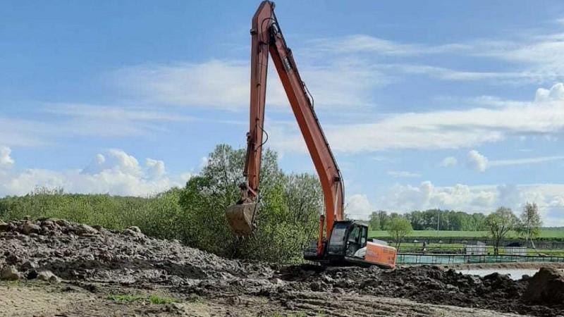 Минэкологии проверяет законность строительства дамбы на пруду в городском округе Домодедово