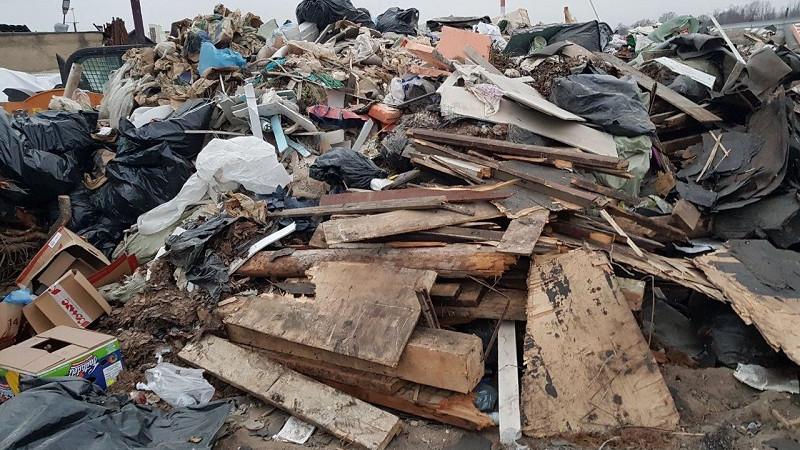 Незаконное складирование отходов установили в городском округе Люберцы