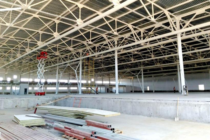 Новый склад металлоконструкций обеспечит городской округ Подольск новыми рабочими местами