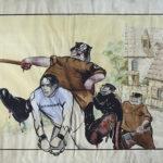 Онлайн-экпозиция «Боевая гуашь»