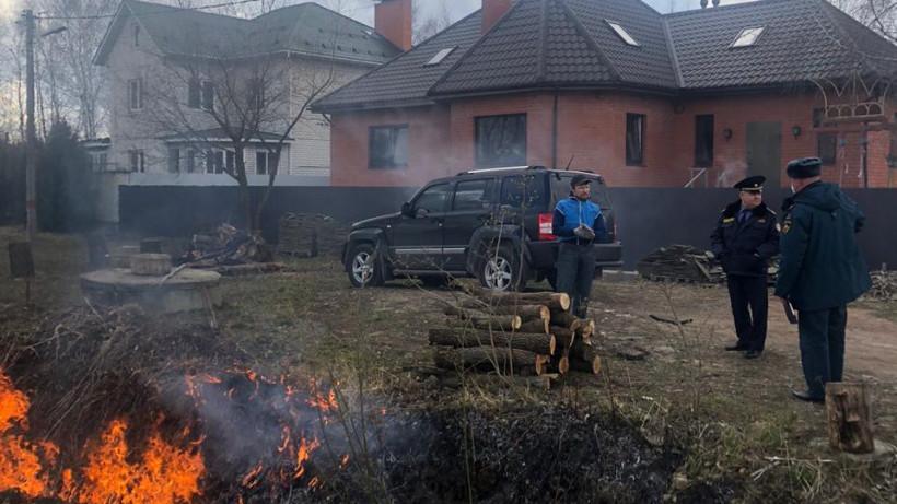 Почти 40 территорий проверили за один день в ходе противопожарных рейдов в Подмосковье