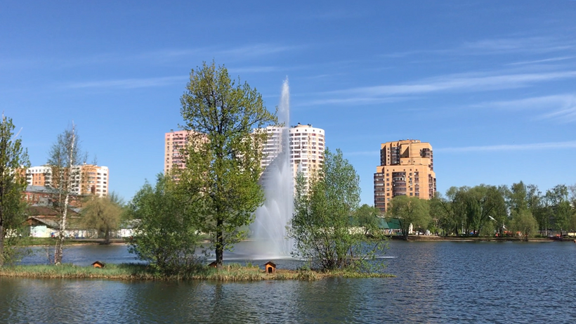Подготовка фонтанов к летнему сезону завершена в Подмосковье