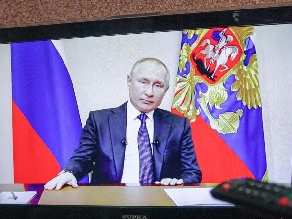 Обращение Путина 11 мая 2020