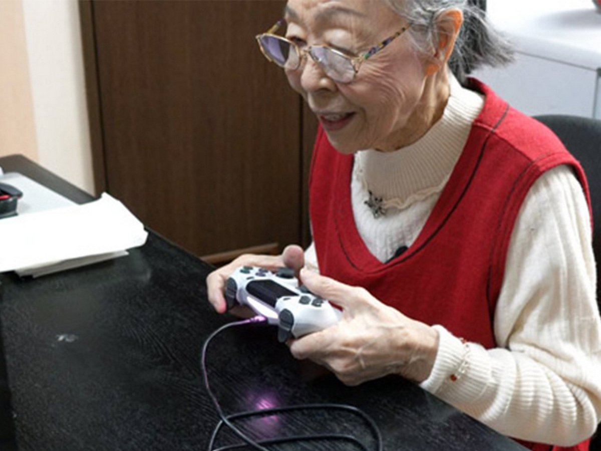 Самого пожилого геймера в мире нашли в Японии
