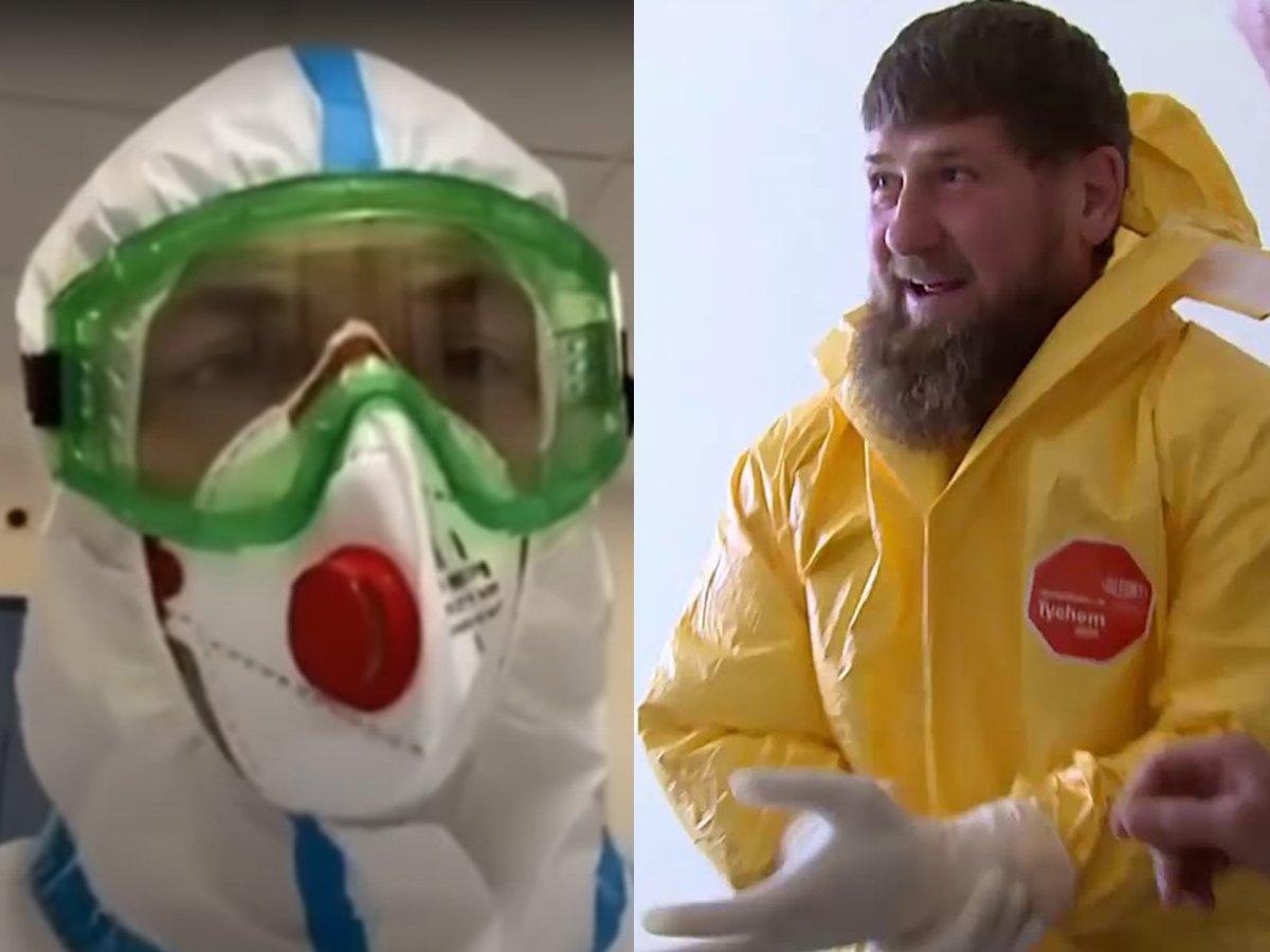 СМИ: глава Минздрава Чечни случайно рассекретил клинику, в которую попал вместе с Кадыровым