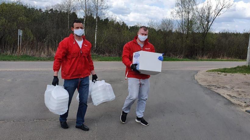 Спортивные волонтеры доставили социальную помощь более 50 семьям с больными детьми
