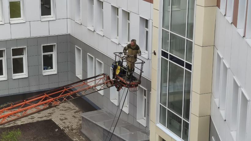 Строительство поликлиники завершается в Подольске