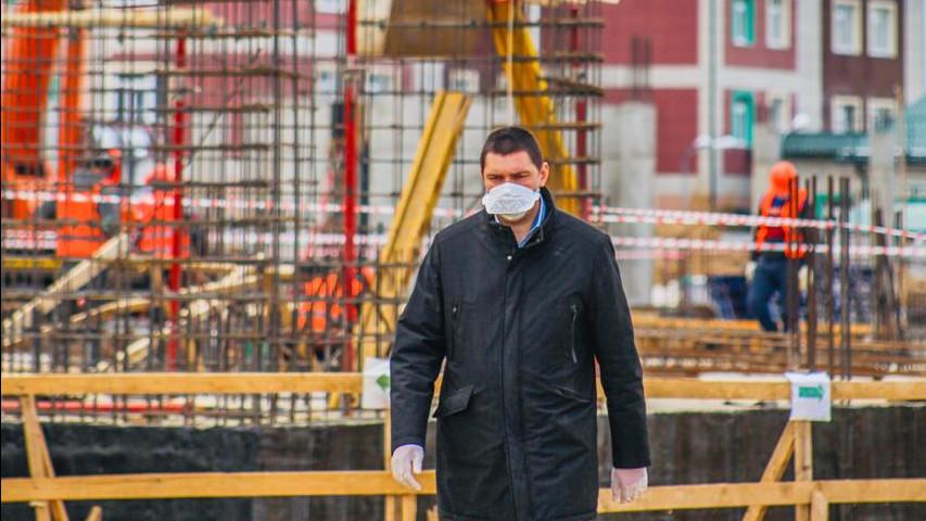 Строительство школы на 1,1 тыс. мест возобновили в Клину