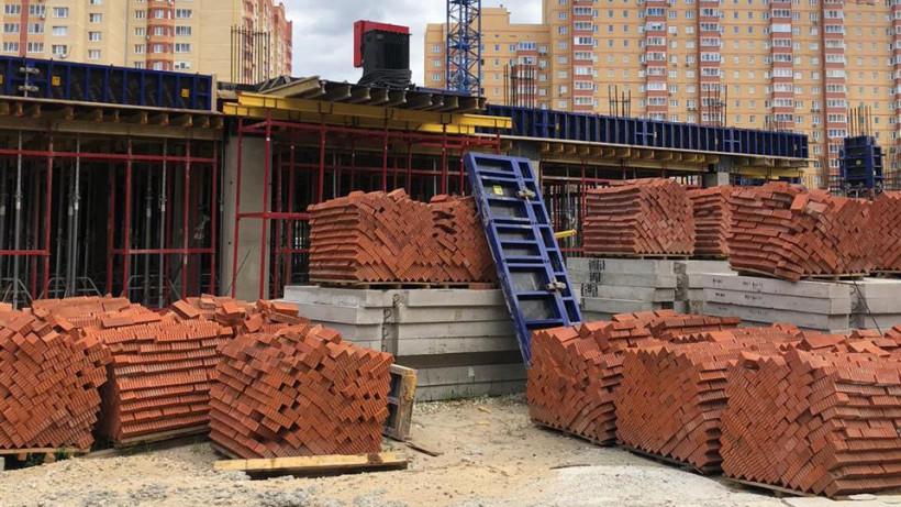 Строительство школы на 1,1 тыс. мест возобновили в Раменском округе