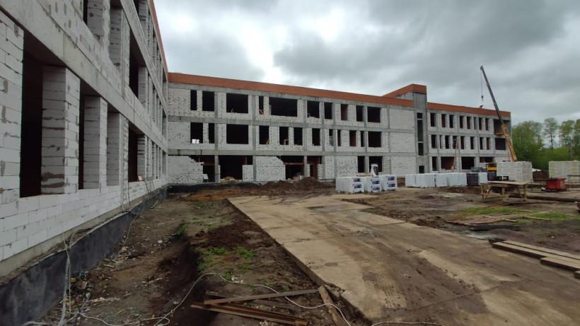 Строительство школы на 154 места в Луховицах завершат в августе