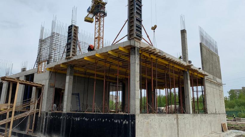 Строительство школы на 550 мест продолжается в Электрогорске