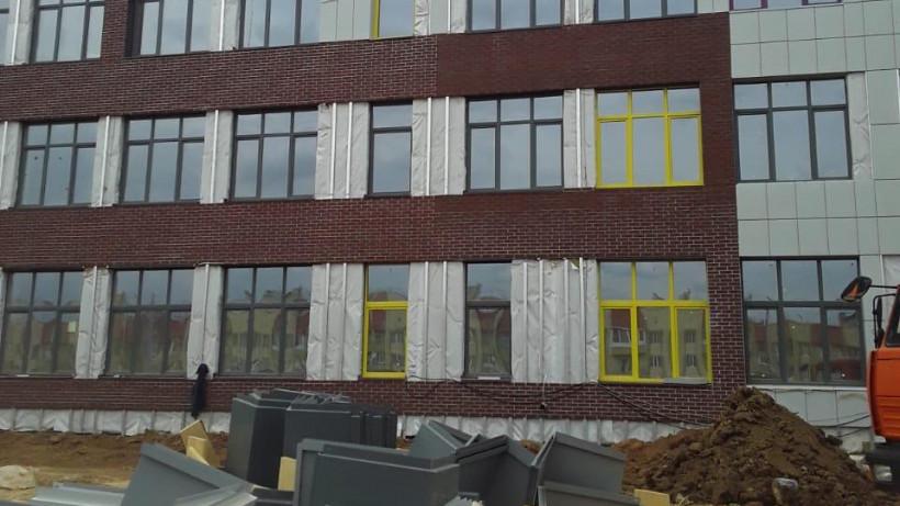 Строительство школы на 825 мест в Волоколамске планируют завершить в августе