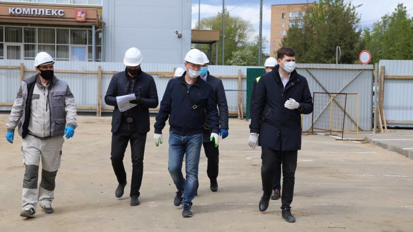 Строительство социальных объектов возобновили в Серпухове