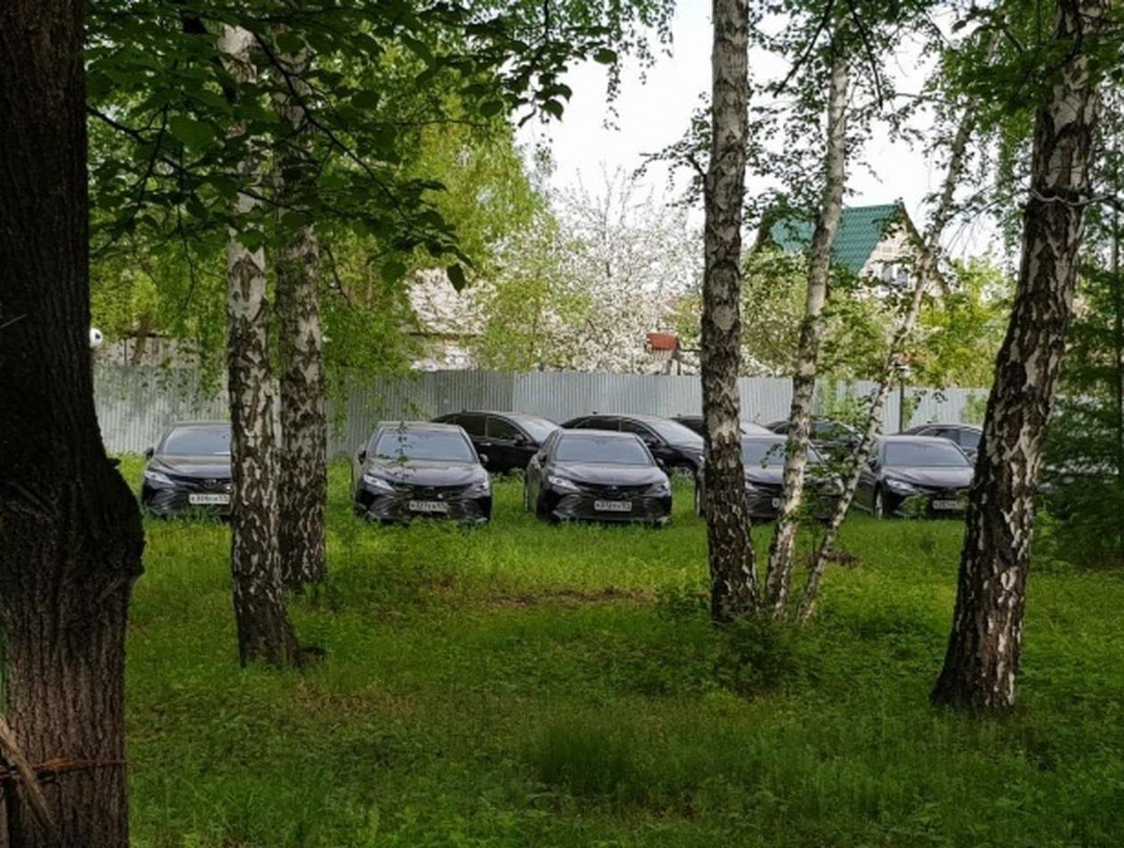 В челябинском лесу найдены около 50 новеньких иномарок (ВИДЕО)