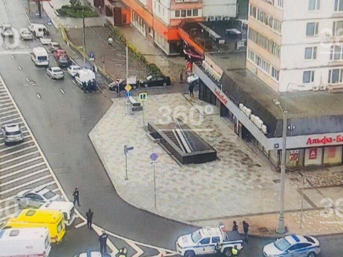 В Москве мужчина взял заложников в отделении «Альфа-банка»