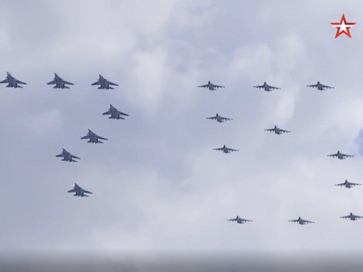 В Москве пройдет воздушный парад Победы 9 мая