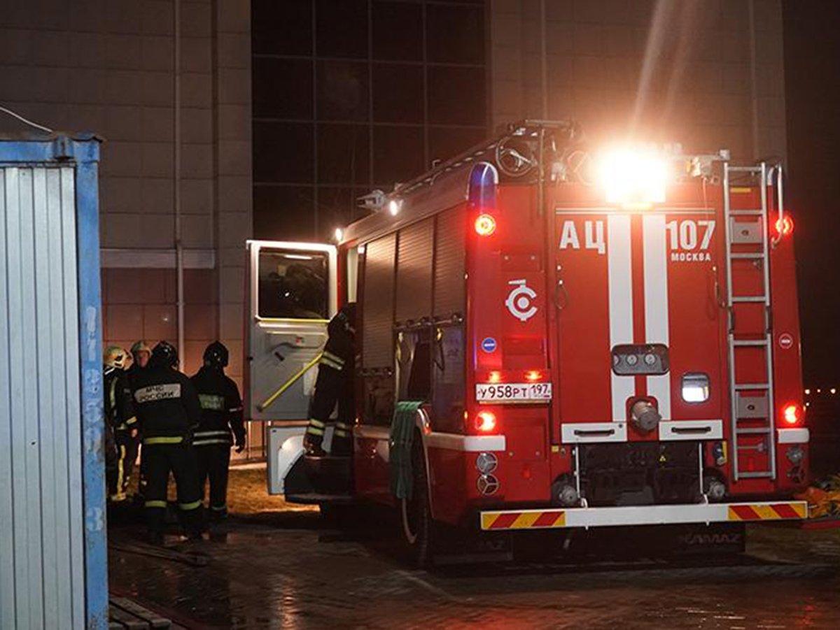 В подмосковном Красногорске сгорел хоспис: погибли 9 человек