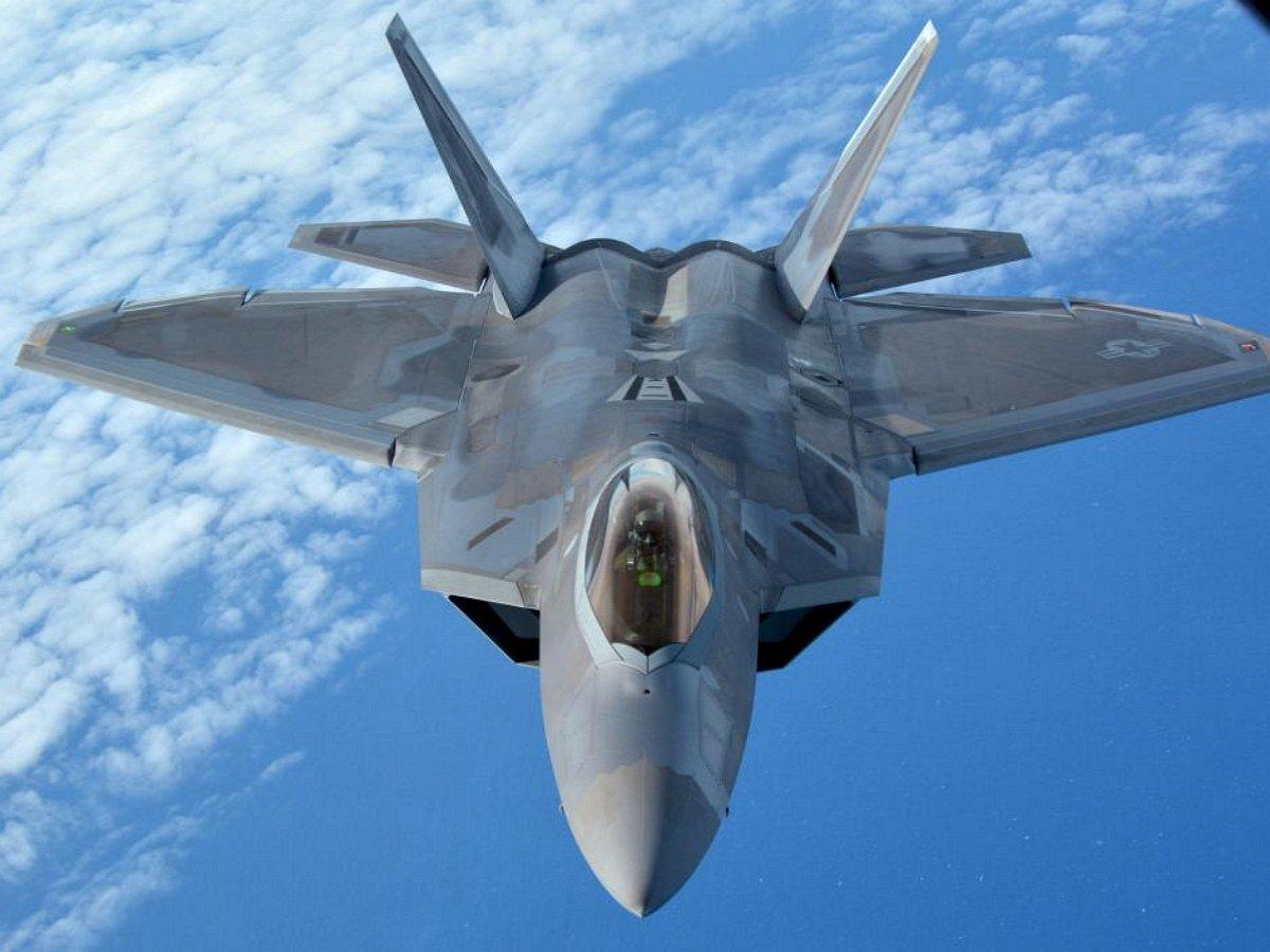 ВСША разбился истребитель F-22 (ВИДЕО)