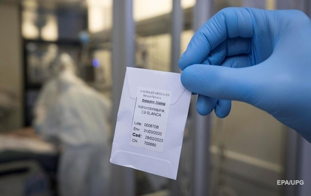 Во Франции запретили использовать гидроксихлорохин при COVID-19