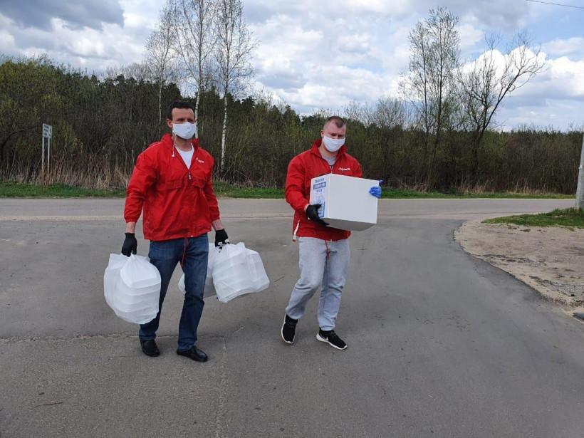 Волонтеры «Живу спортом» доставили социальную помощь более 50 семьям с больными детьми