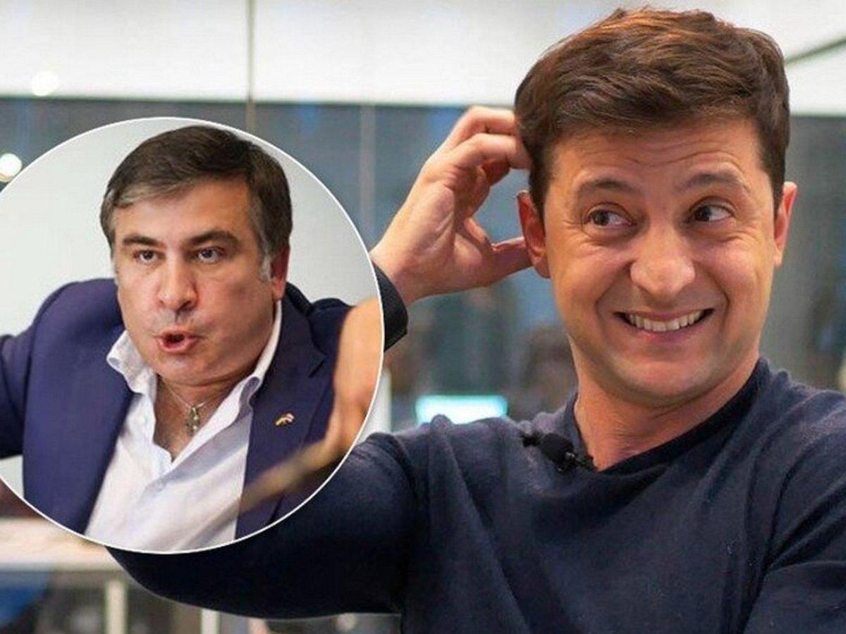 Зеленский нашел работу Саакашвили на Украине: в ответ Грузия отозвала посла из Киева