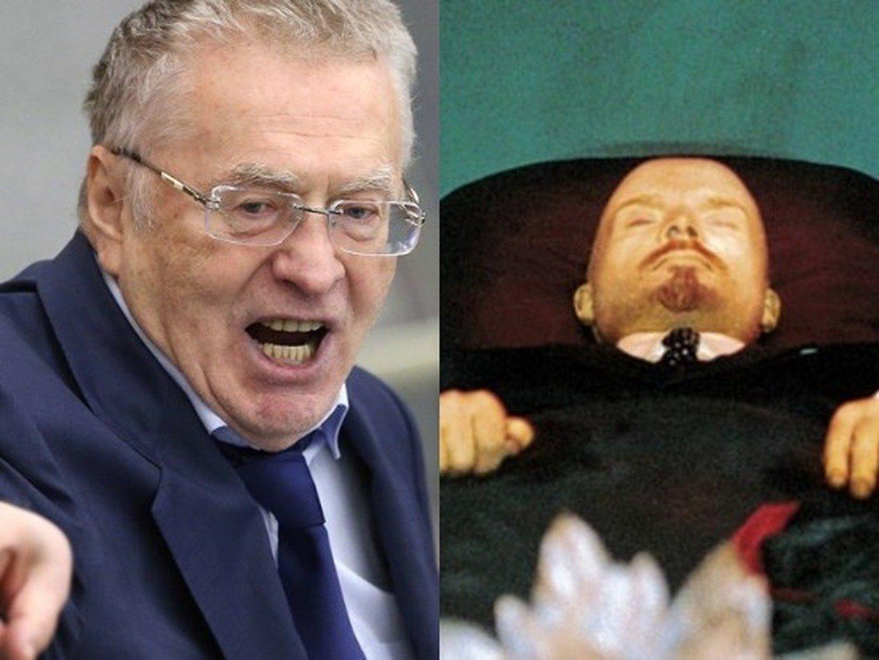 Жириновский предложил продать «мумию» Ленина в Китай