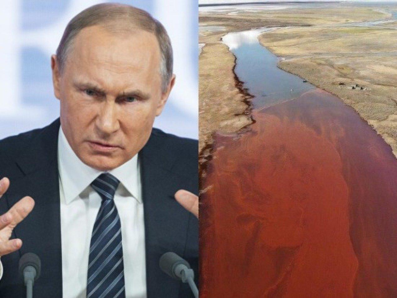 «А что делать-то?»: Путин отчитал губернатора Усса за ЧП в Норильске