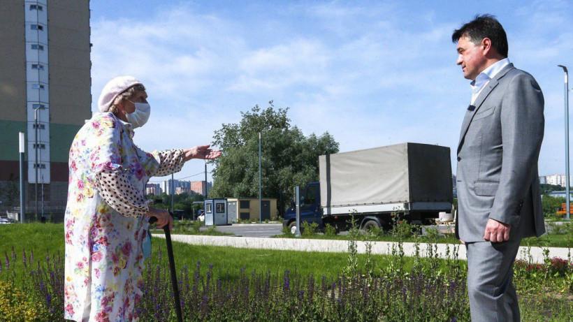 Андрей Воробьев посетил с рабочим визитом Красногорск и Одинцово