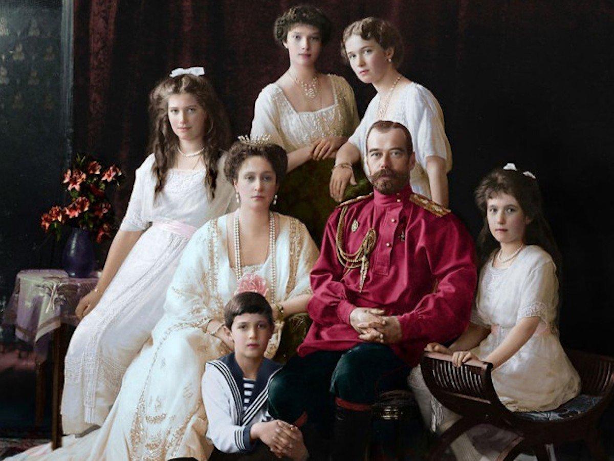 Царская Россия на колоризированных снимках