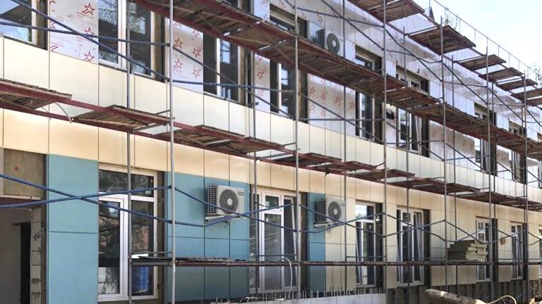 Cтроительство детского сада в рамках нацпроекта «Демография» завершается в Красногорске