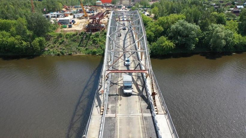 Движение по отремонтированному Афанасьевскому мосту запустили в Воскресенске