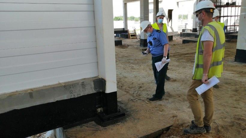 Главгосстройнадзор проверяет ход строительства завода по производству сиропов в Ступине