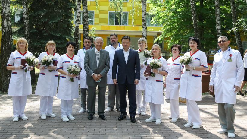 Губернатор посетил с рабочим визитом Коломенский городской округ
