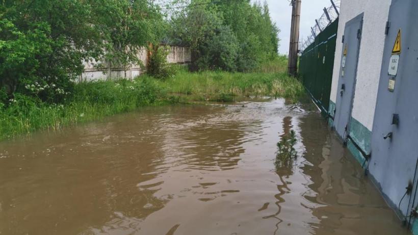 Энергетики восстановили работу затопленной подстанции в Клину