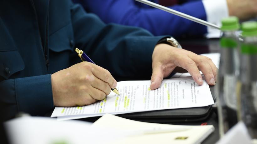 Документы, подписание