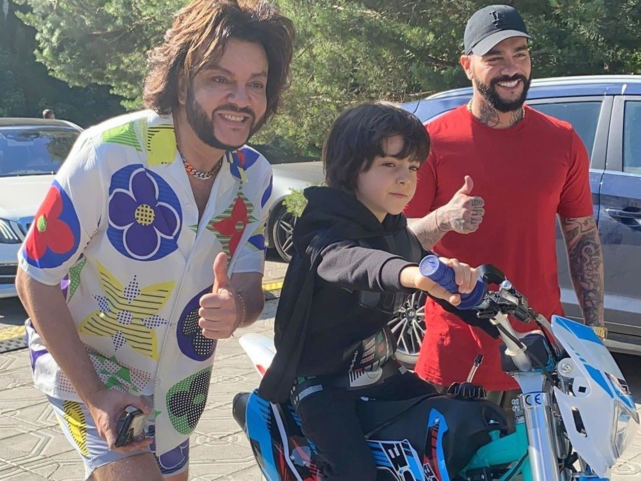 Киркоров закатил шикарную вечеринку в честь 8-летия сына Мартина