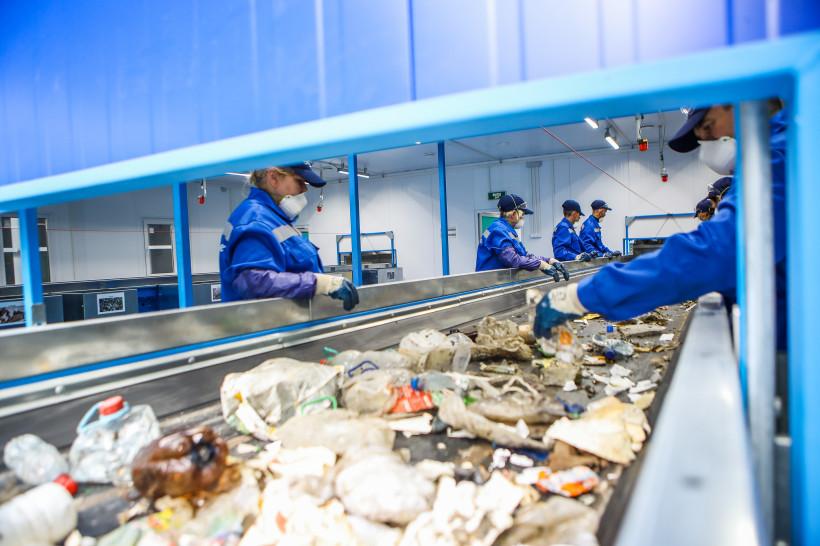 Губернатор принял участие в открытии комплекса по переработке отходов в Кашире