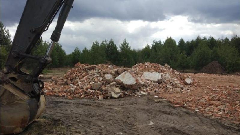 Минэкологии Подмосковья подало в суд на предпринимателя за незаконное размещение отходов