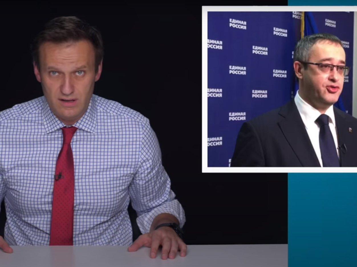 Навальный нашел у спикера Мосгордумы Шапошникова незадекларированные два года назад 870 млн рублей